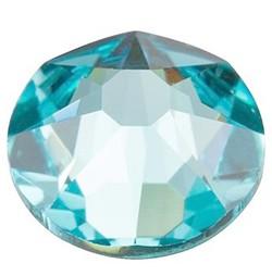 Cristale Swarovski cu spate plat No Hotfix 2058 Light Turquoise F (263) SS 5 Xilion Rose