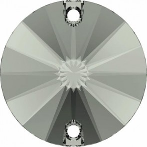 Cristale Swarovski De Cusut 3200/G Black Diamond F PFRO01 (215) 12 mm