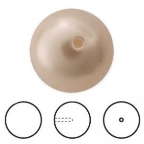 Perle Swarovski 5818 Crystal Powder Almond Pearl (001 305) 8 mm