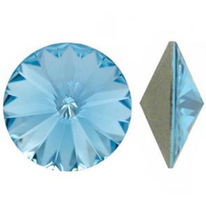 Cristale Swarovski Round Stones 1122 Aquamarine F (202) 12MM
