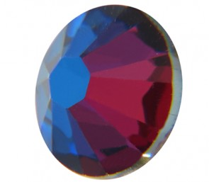 Cristale Swarovski cu spate plat No Hotfix 2058 Crystal Meridian Blue F (001 MBLUE) SS 12 - Xilion Rose