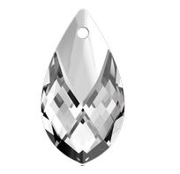 Pandantiv Swarovski 6565 Pear-shaped Pendant Crystal Light Chrome Z MCI (001 LTCHZ)