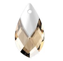 Pandantiv Swarovski 6565 Pear-shaped Pendant Light Colorado Topaz Light Chrome Z MCI (246 LTCHZ)