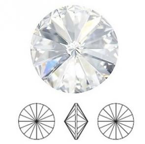 Cristale Swarovski 1122 Crystal Foiled (001) SS 47 - Rivoli