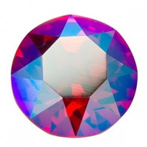 Cristale Swarovski Round Stones Xirius Chaton 1088 Light Siam Shimmer (227 SHIM) SS39