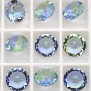 Cristale Swarovski Round Stones Xirius Chaton 1088 Provence Lavander Blend (726) SS39