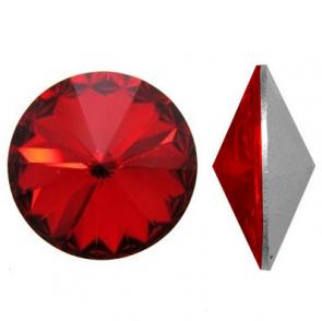 Cristale Swarovski Round Stones 1122 Light Siam F (227) 12mm