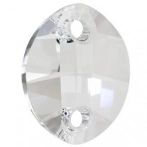 Cristale Swarovski De Cusut 3224 Crystal (001) 23 x 18 mm - Pure Leaf