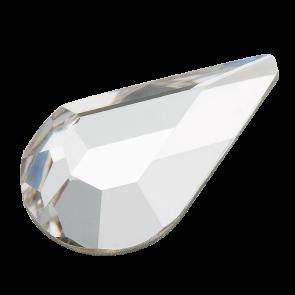 Cristale PRECIOSA FLATBACK cu LIPIRE LA CALD - MC Pear FB 8x4.8 crystal HF