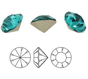 Cristale Preciosa MC Chaton  MAXIMA SS29 BLUE ZIRCON