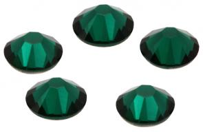 Cristale Swarovski cu spate plat No Hotfix 2058 Verde Emerald F (205) SS 7