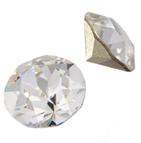 Cristale Swarovski Round Stones 1028 Crystal F (001) PP 4