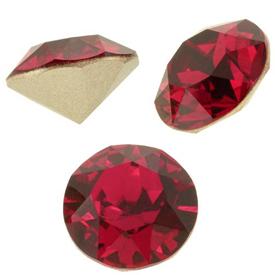 Cristale Swarovski Round Stones 1088 Scarlet SS 45