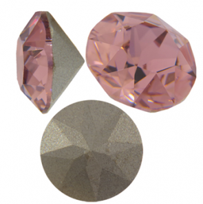 Cristale Swarovski Round Stones 1088 Blush Rose SS45