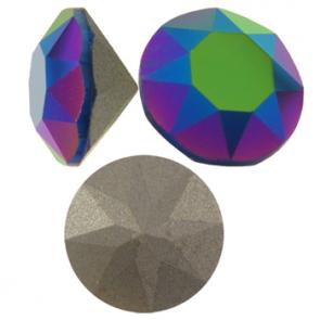 Cristale Swarovski Round Stones 1088 Scarabaeus Green SS 39