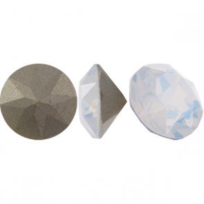 Cristale Swarovski Round Stones 1088 White Opal F (234) PP 19
