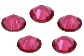 Cristale Swarovski cu spate plat No Hotfix 2058 Indian Pink F (289) SS 34 - de lipit