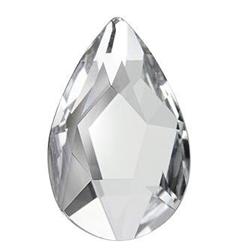 Cristale Swarovski 2303 Pear Flat Back Crystal F 8 X 5 mm