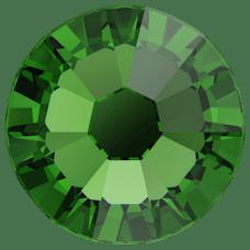 Cristale Swarovski cu spate plat No Hotfix 2058 Dark Moss Green F (260) SS 20