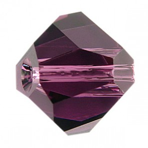 Margele Swarovski 5603 Crystal Amethyst (001 GSHA) 8 mm - Graphic Cube