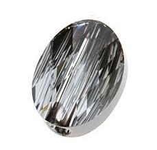 Margele Swarovski 5051 Crystal Silver Night (001 SINI) 10 x 8 mm - Mini Oval Bead