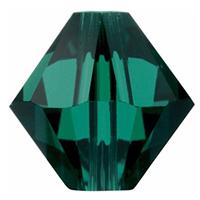 Margele Swarovski 5328 Emerald (205) 6 mm