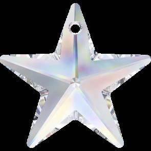 Pandantiv Swarovski 6714 STAR PENDANT Crystal AB (001 AB) 20 mm - Steluta