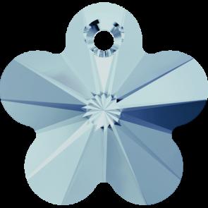 Pandantiv Swarovski 6744 FLOWER PENDANT  Aquamarine (202) 14 mm - Floare
