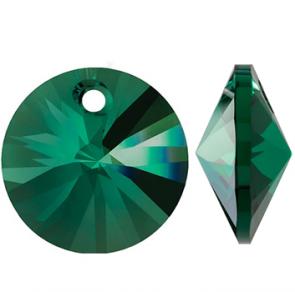 Pandantiv Swarovski 6428 XILION PENDANT Emerald (205) 8 mm