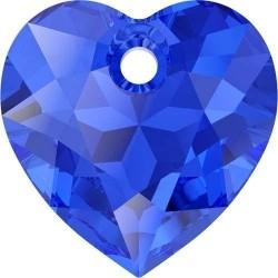 Pandantiv Swarovski 6432 HEART CUT PENDANT Majestic Blue 10,5 mm