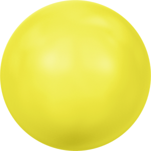 Perle Swarovski 5810 Crystal Neon Yellow Pearl (001 734) 12 mm