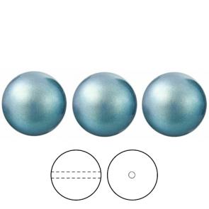 PERLE PRECIOSA Nacre Pearl ROUND MAXIMA Pearlescent Blue 10 mm