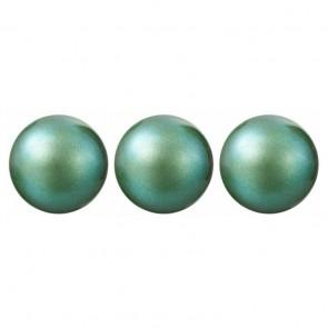 PERLE PRECIOSA Nacre Pearl ROUND MAXIMA Pearlescent Green 5 mm