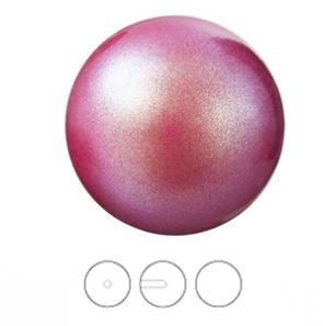 PERLE PRECIOSA Round Pearl 1/2H MXM 8 mm  Pearlescent Red