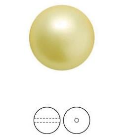 PERLE PRECIOSA Nacre Pearl ROUND MAXIMA Vanilla 10 mm