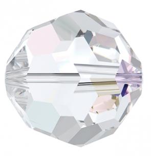 Margele PRECIOSA MC Round Bead,Simp. 6 mm crystal AB
