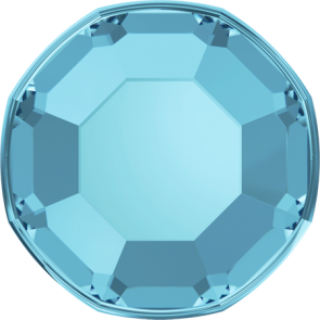 Cristale Swarovski cu spate plat No Hotfix 2000 Aquamarine F (202) SS 3 - de lipit