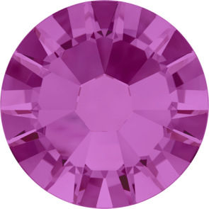 Cristale Swarovski cu spate plat No Hotfix 2058 Fuchsia F (502) SS 5 - de lipit