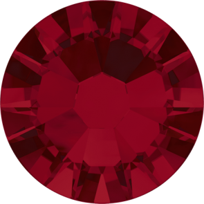 Cristale Swarovski cu spate plat No Hotfix 2058 Siam F (208) SS 5 - de lipit