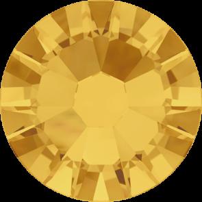 Cristale Swarovski cu spate plat No Hotfix 2058 Sunflower F (292) SS 5 -  de lipit