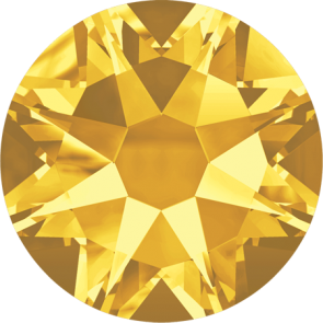 Cristale Swarovski cu spate plat No Hotfix 2058 Sunflower F (292) SS 12
