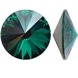 Cristale Swarovski Round Stones 1122 Emerald F (205) SS39