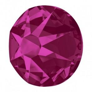 Cristale Swarovski cu spate plat si lipire la cald 2078 Fuchsia A HF (502) SS 34 - Xirius Rose