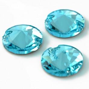 Cristale Swarovski De Cusut 3200 Light Turquoise 10 mm